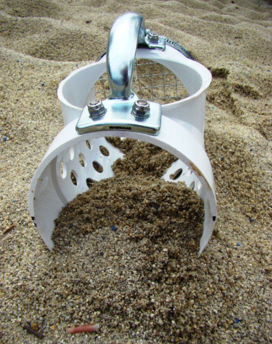 sand scoop metal detector